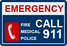 For Emergencies Dial 9-1-1